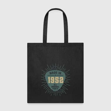 Original Made In 1952 All Original Parts - Tote Bag