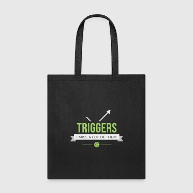 Magic The Gathering Triggers - Magic the Gathering Funny - Tote Bag