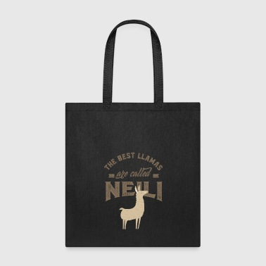 Name Day THE BEST LLAMAS ARE CALLED NEILI - Tote Bag