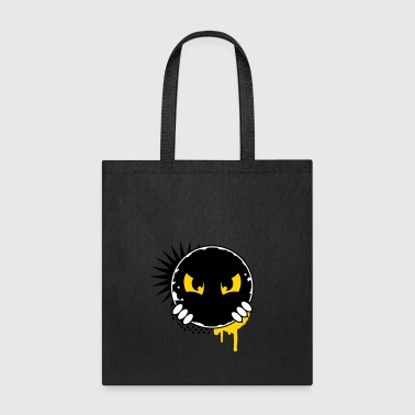 Cartoon character eyes- patch - Tote Bag