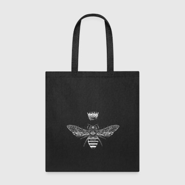 Crown in graffiti style - Tote Bag