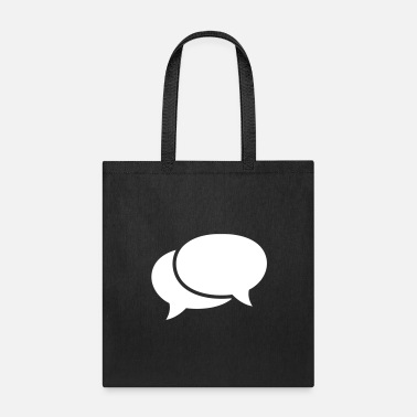 Speech Bubble speech bubbles - Tote Bag