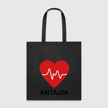 Heart Antalya - Tote Bag
