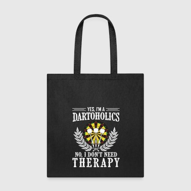 Dart Board Darts Shirt - Dart Board - Dartoholics - Tote Bag