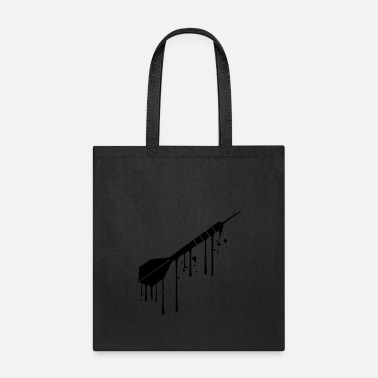 Graffiti drop graffiti spray wet logo cool play darts club - Tote Bag