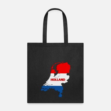 Map Holland map - Tote Bag