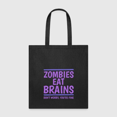Nuclear Zombies Eat Brains - Tote Bag