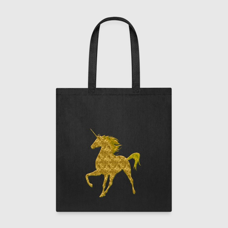 Gold Unicorn - Tote Bag