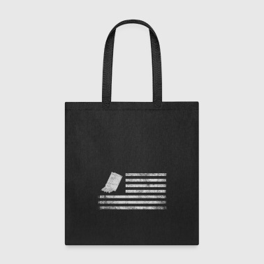 Indiana State United States Flag Vintage USA - Tote Bag