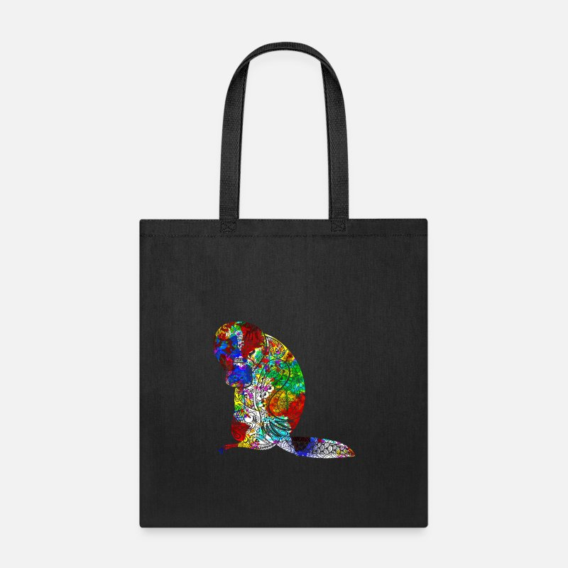Platypus Bags Backpacks Shirt Tote Bag Black