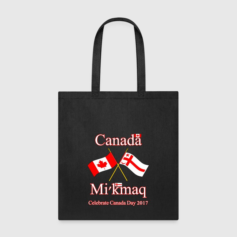 DUAL FLAGS CANADA DAY 2017 - Tote Bag