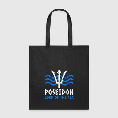 Trident Poseidon Lord Of The Sea - Tote Bag