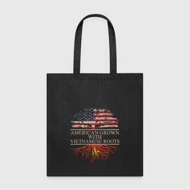 American grown with vietnamese roots - Tote Bag