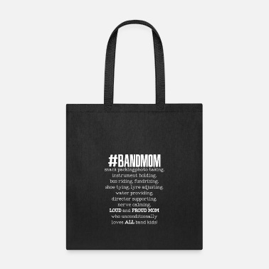 Band Band Mom Definition - Tote Bag