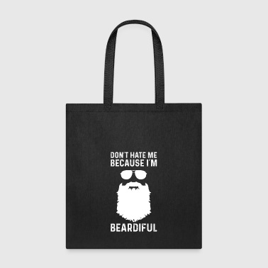 beard-bearded-bearded man-gift - Tote Bag