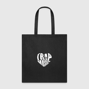 Trap Music Heart gift for Deejays - Tote Bag