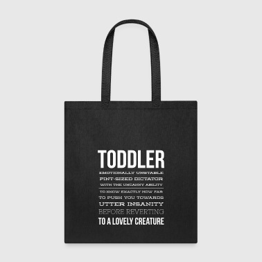 Toddler description - Tote Bag