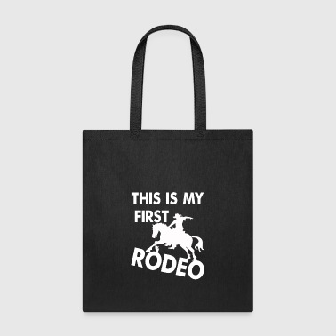 Western Riding Rodeo, riding, western, T-shirt - Tote Bag