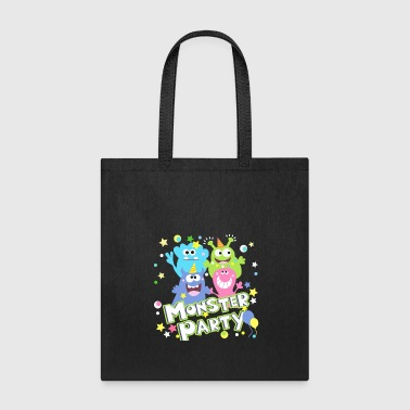 Monster party - Tote Bag