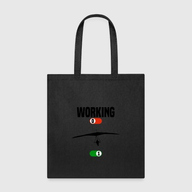 Working hang glider glide gift - Tote Bag