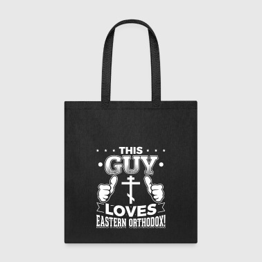 This guy loves eastern orthodox - Tote Bag