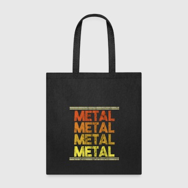 Metal Music Shirt - Gift - Tote Bag