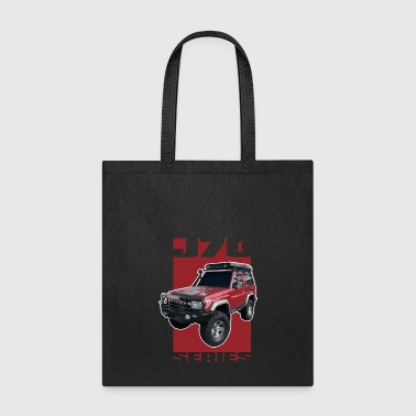 J70 Series Toyota Landcruiser - Tote Bag