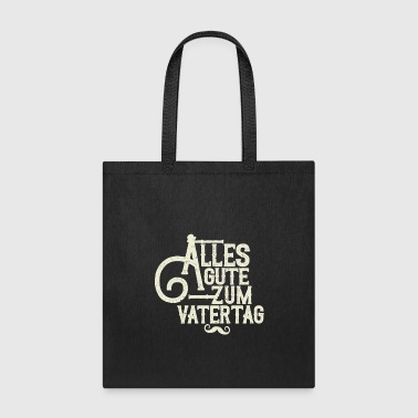 Fathers Day German B - Tote Bag