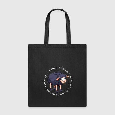 Black Sheep Sheep Black Sheep gift - Tote Bag