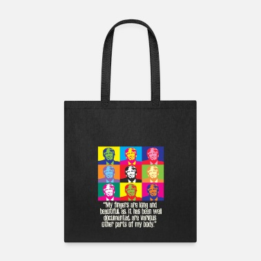Anti funny trump quote long beautiful finger small hands pro anti president Donald maga - Tote Bag