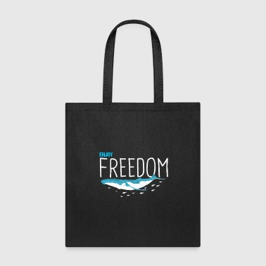 Enjoy Freedom Sealife Whales - Tote Bag