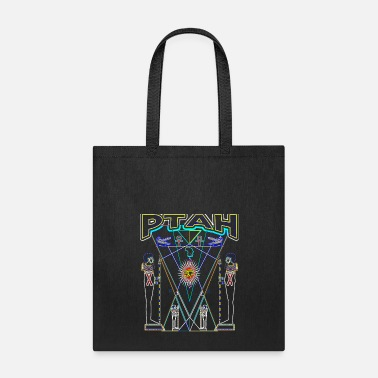 Esoteric PTAH Esoteric Psychedelic T Shirt All seeing Eye Awakening - Tote Bag