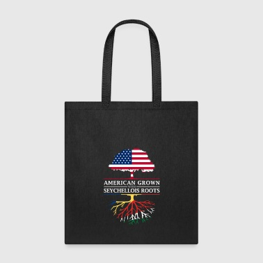 American Grown with Seychellois Roots Seychelles Design - Tote Bag