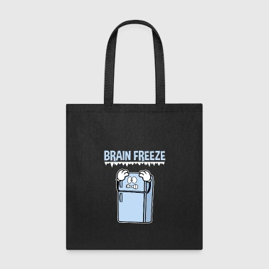 Brain Freeze Freezing Pain Headache - Tote Bag