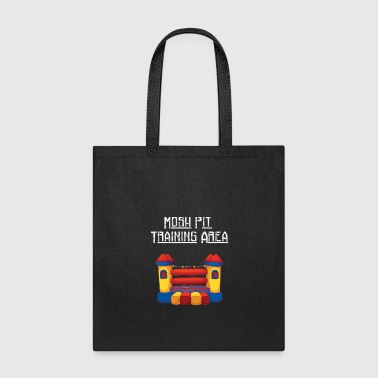 Mosh Mosh Pit Bounce House Training Area - Tote Bag