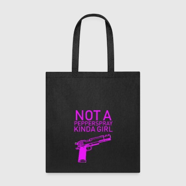Gun Girl Gun Girl no Papperspray Guns Shooting - Tote Bag