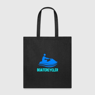 Boatercycler funny Jet Ski - Tote Bag