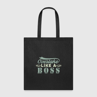Motor Race car vehicle motor overtake race - Tote Bag
