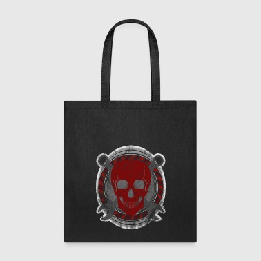 mechanic skull tools rugged gift idea - Tote Bag
