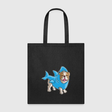 Bulldog Shark - Tote Bag