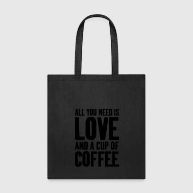 Love and Coffee - Tote Bag