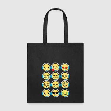 Emoji Workaholics Emojie - Tote Bag