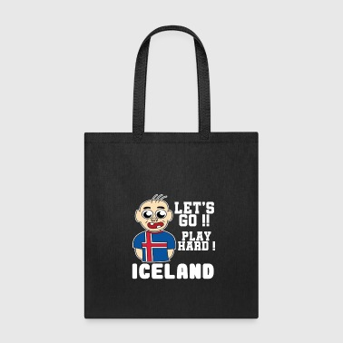 Iceland Football World cup Soccer Championship world champion ball - Tote Bag