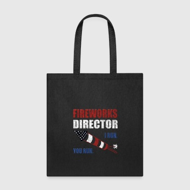 Fireworks Director Shirt 4th of July Merica Gifts - Tote Bag