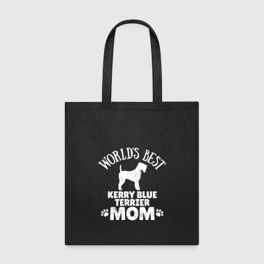 Kerry Blue Terrier Dog Owner Mom Dog Gift Idea - Tote Bag