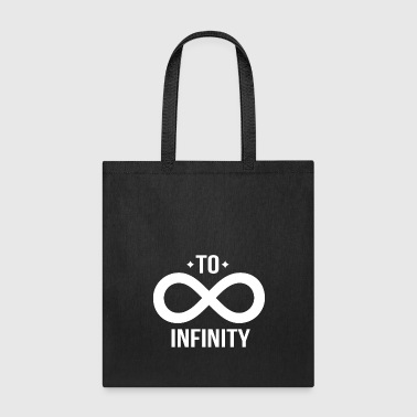 Friendship - To Infinity Tshirt Matching BFF shirt - Tote Bag