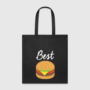 Friends - Best Hamburger Tshirt Matching BFF shirt - Tote Bag