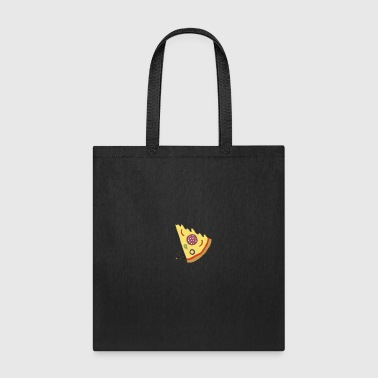 The Missing Pizza Salami - Matching Couple Love - Tote Bag