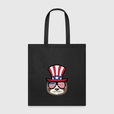 Sloth Happy 4th Of July - Tote Bag