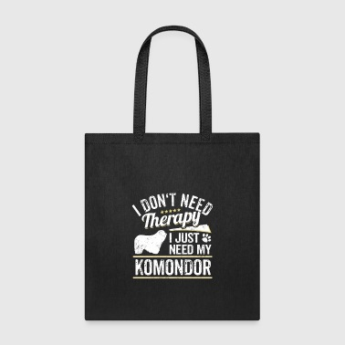 Komondor Dog Owner Cool Dog Gift Idea - Tote Bag